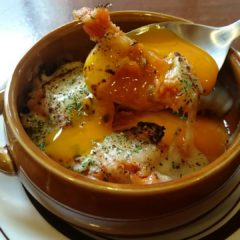 トリッパ トマトの煮込み 自家製温玉のせ